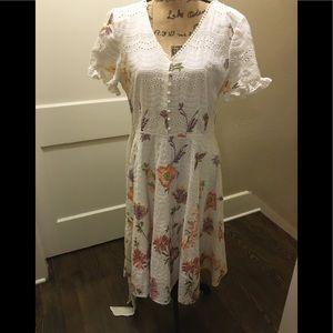 Alex Marie Broderie Dress